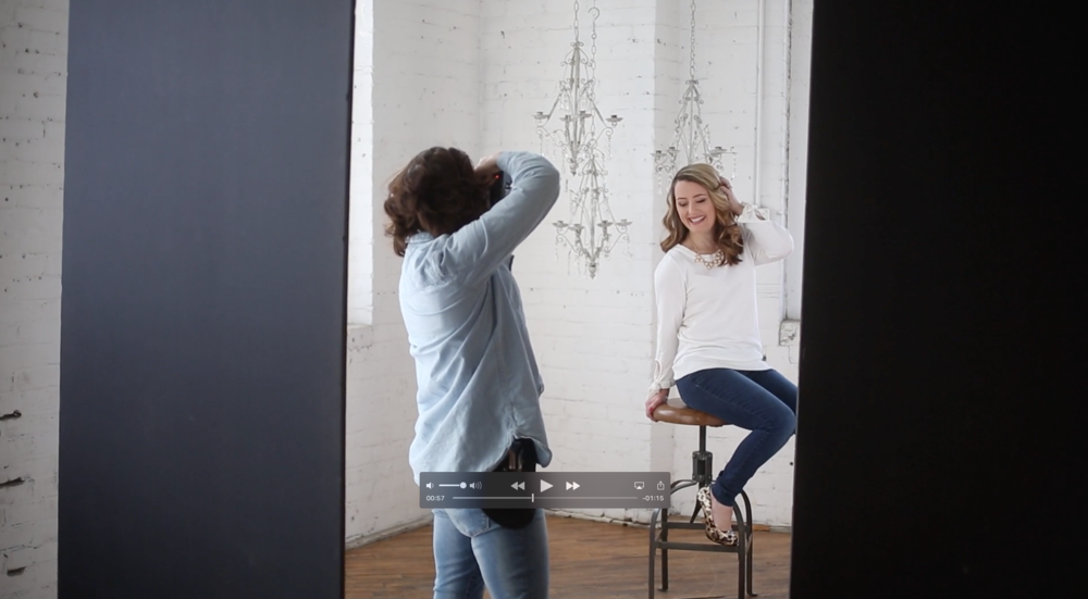 behind the scenes video — mod bettie portraits: fall in love    with  yourself -shop