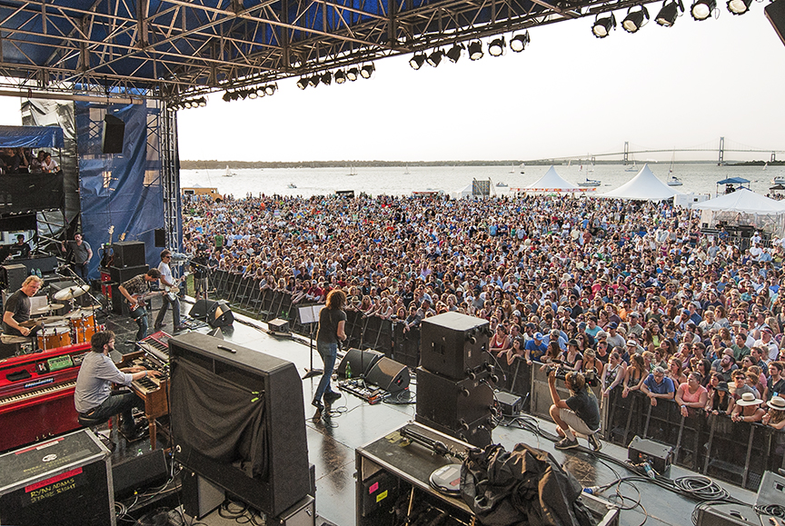 ( Ryan Adams Stage Right | Newport Folk Festival 2014)