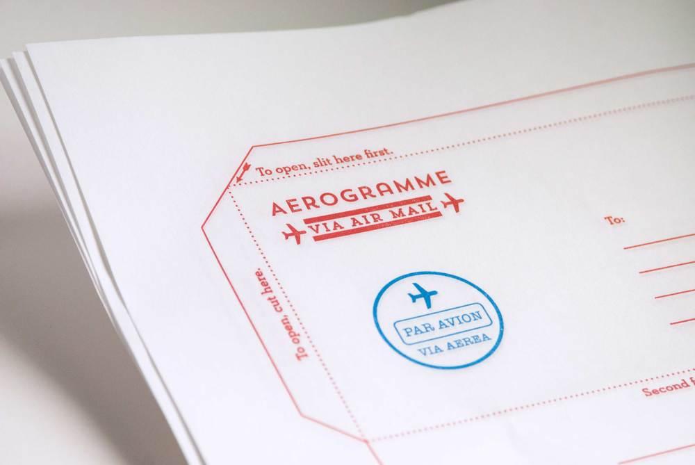 Aerogramme!
