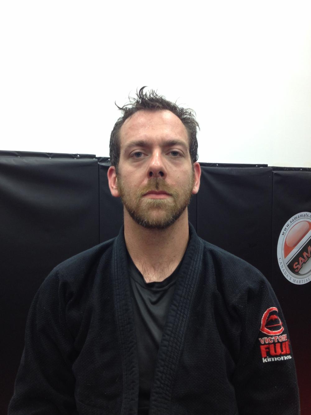 Jean-Francois, membre Sampa jiu-jitsu