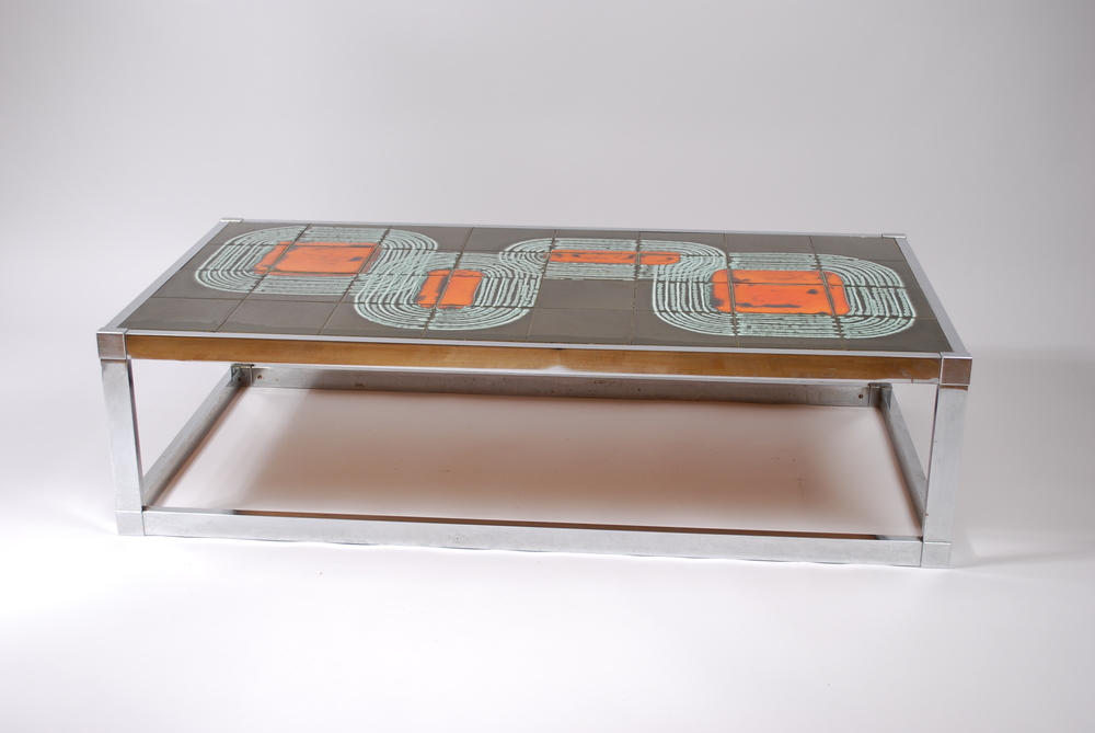 Tile coffee table 60's, Belgium