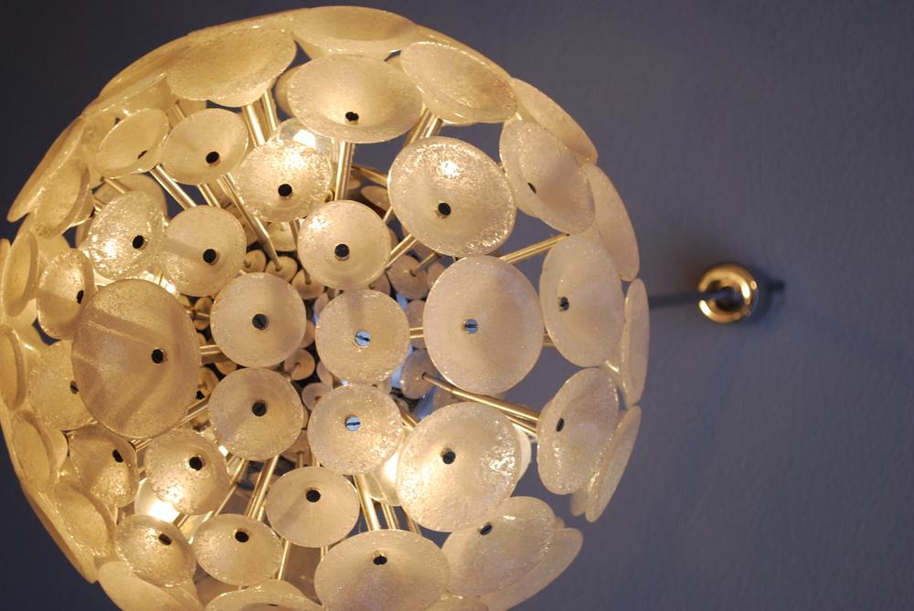 Dadelion lamp 60's, organic design