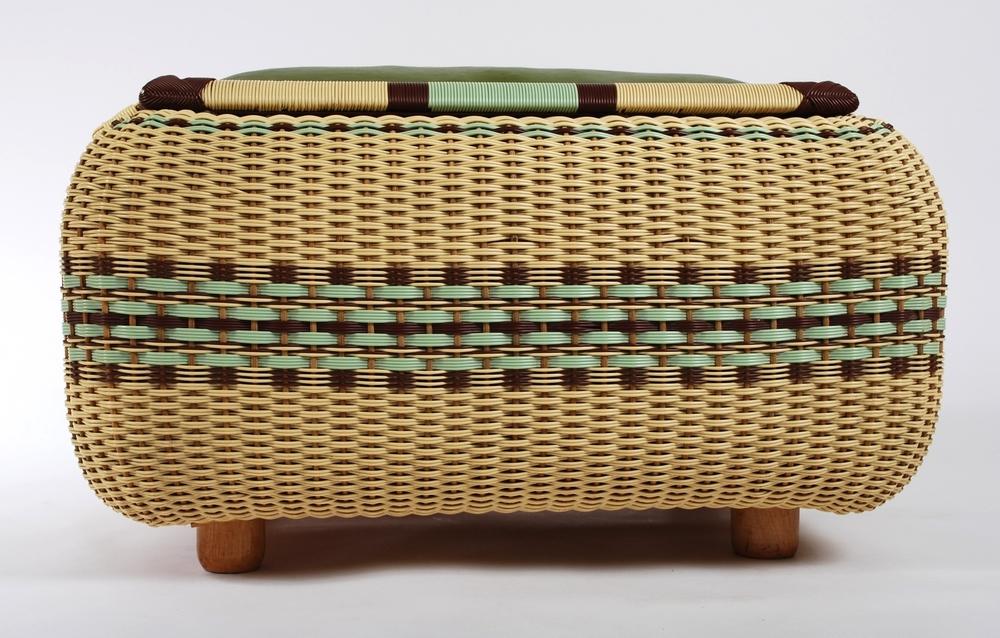 Basket Seat storage 50's
