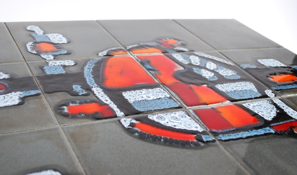 Coffee table tiles, Belgium 60s