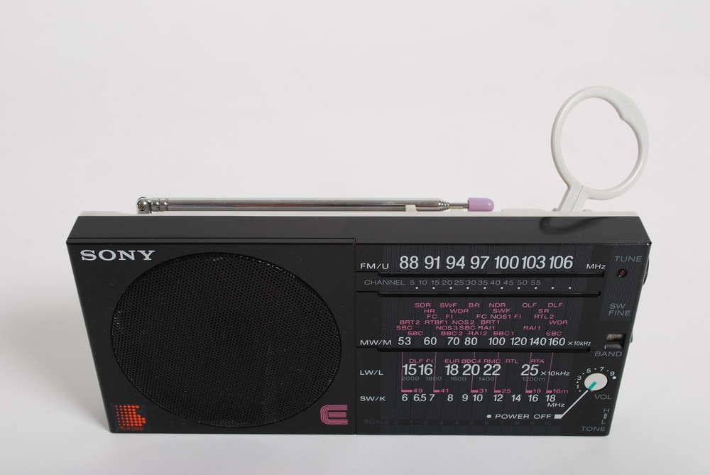 Sony portable radio ICF-35, 80's
