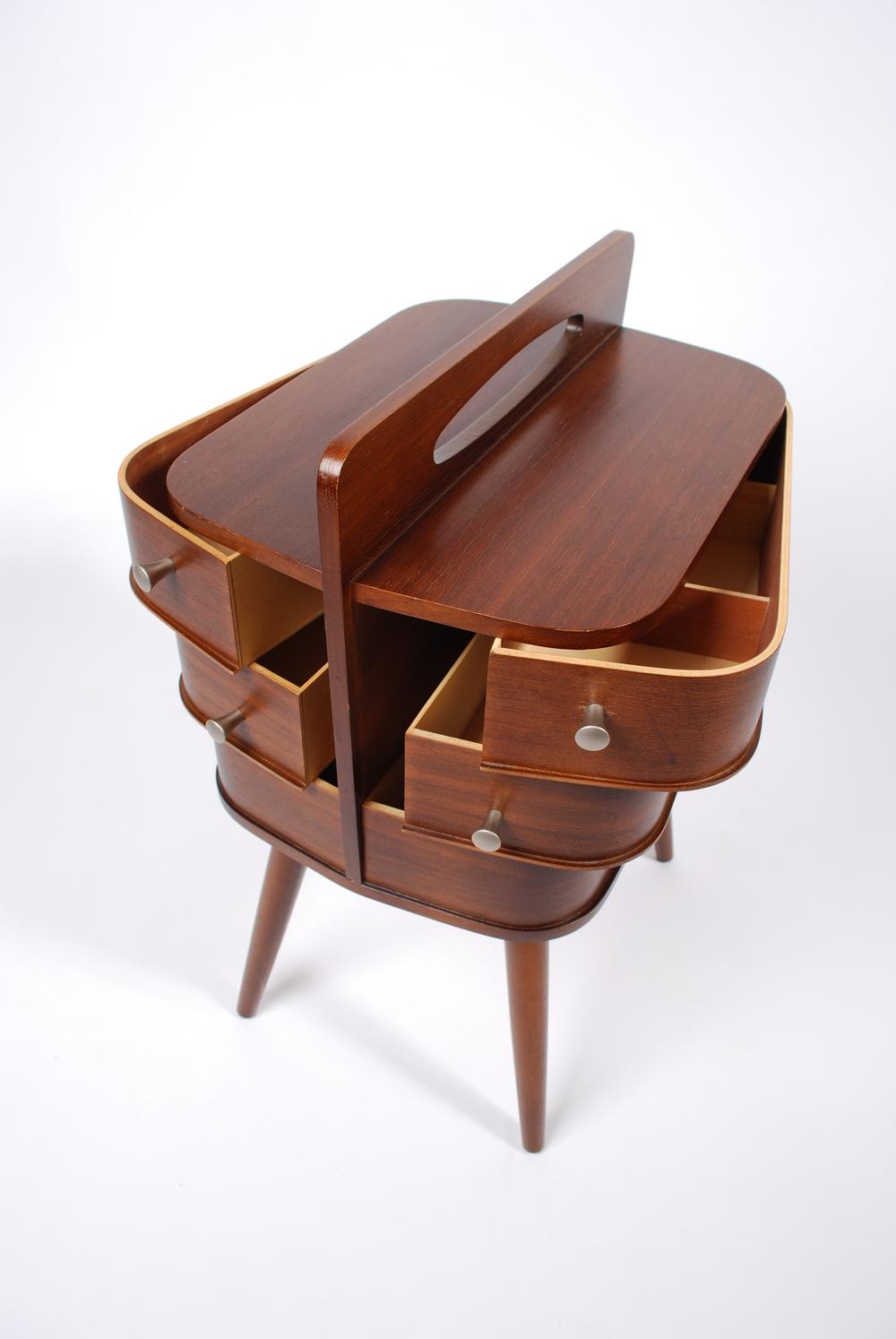 Sewing box, 60's Danish design