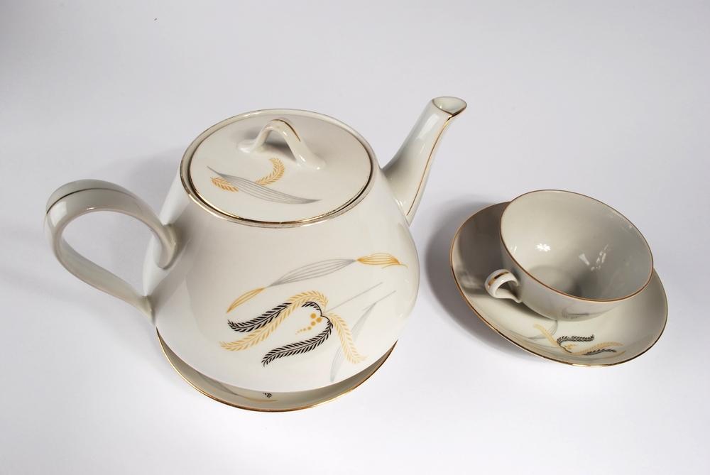 Bohemian tea set M.Z.  Czechoslovakia 40's
