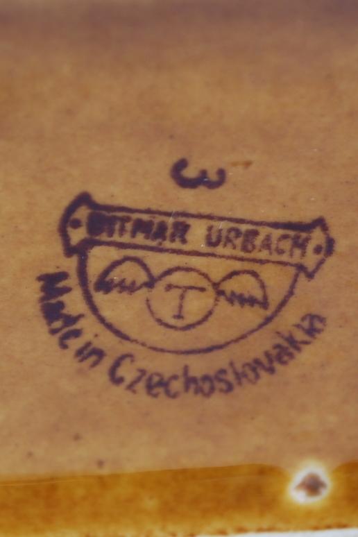 Ditmar Urbach large vase Czechoslovakia 60's