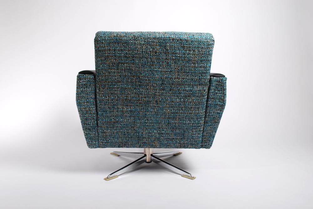 Lounge swivel chairs 50's
