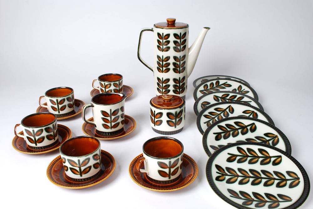 Coffee Set 1966 Rambouillet  Boch Freres