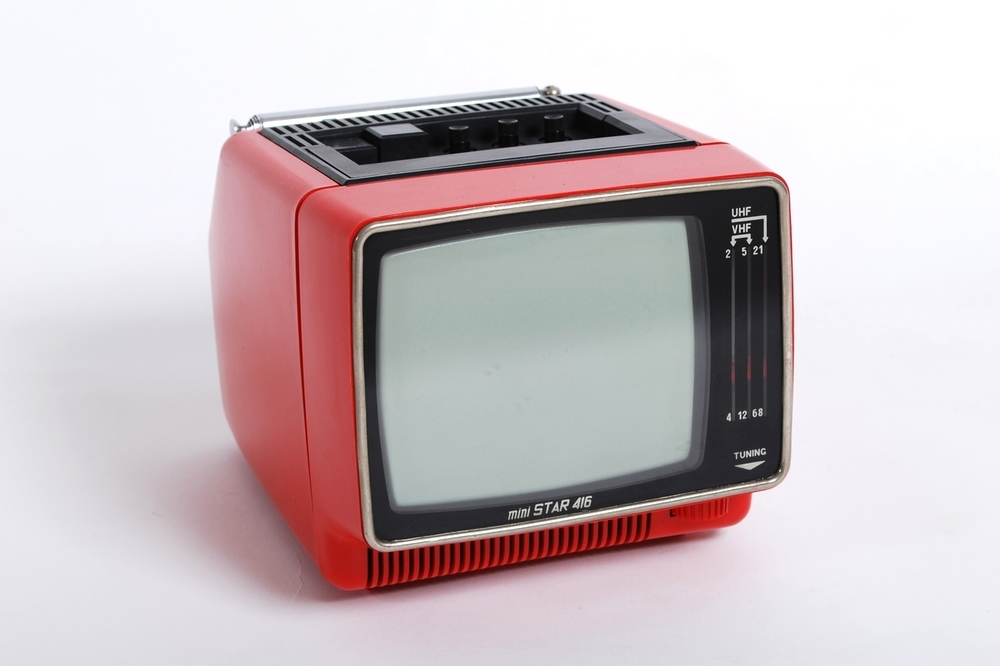 Portable television mini STAR 416, 80's USSR