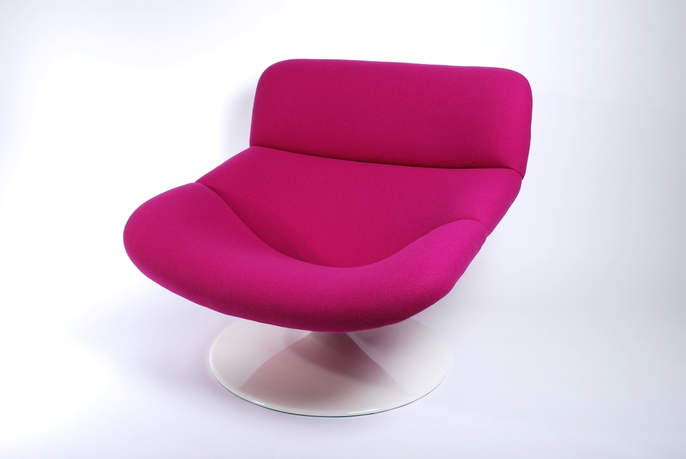 Artifort F518 Lounge swivel chair