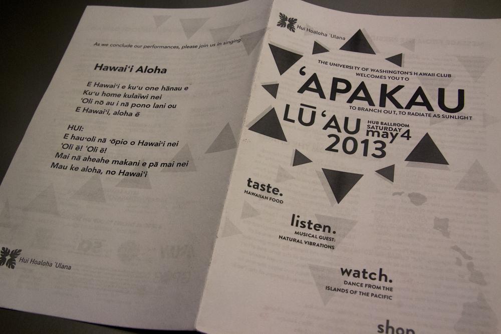 2013 Event programs
