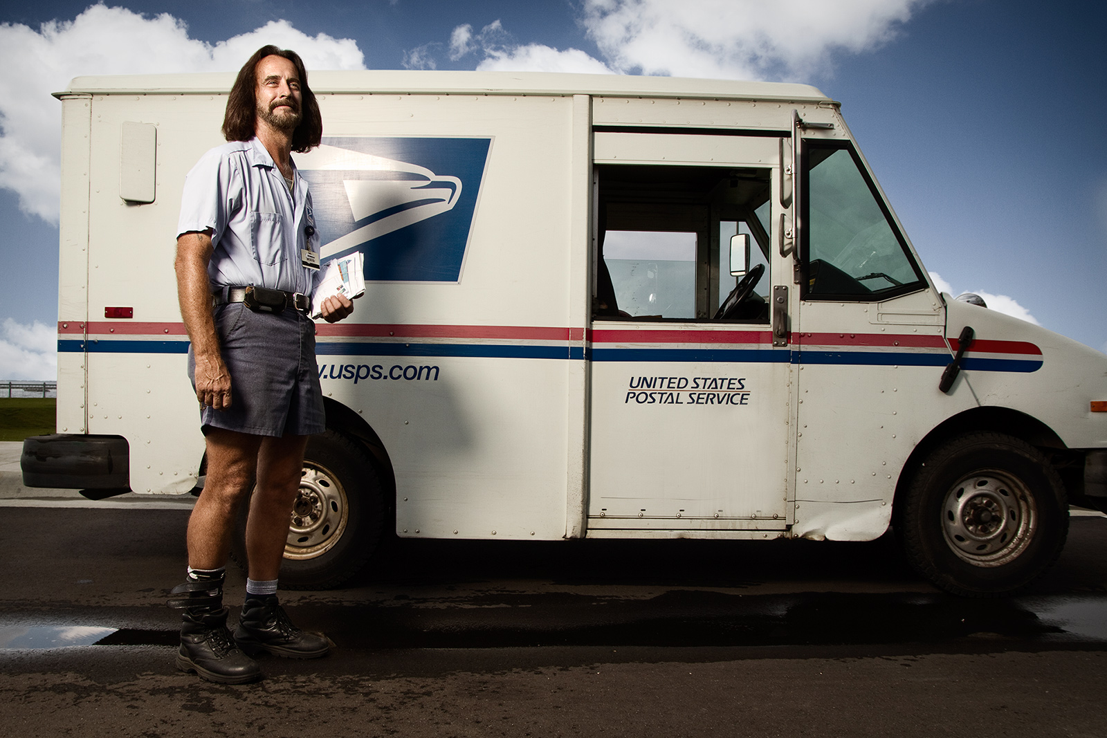 Mike the Mailman - Wide