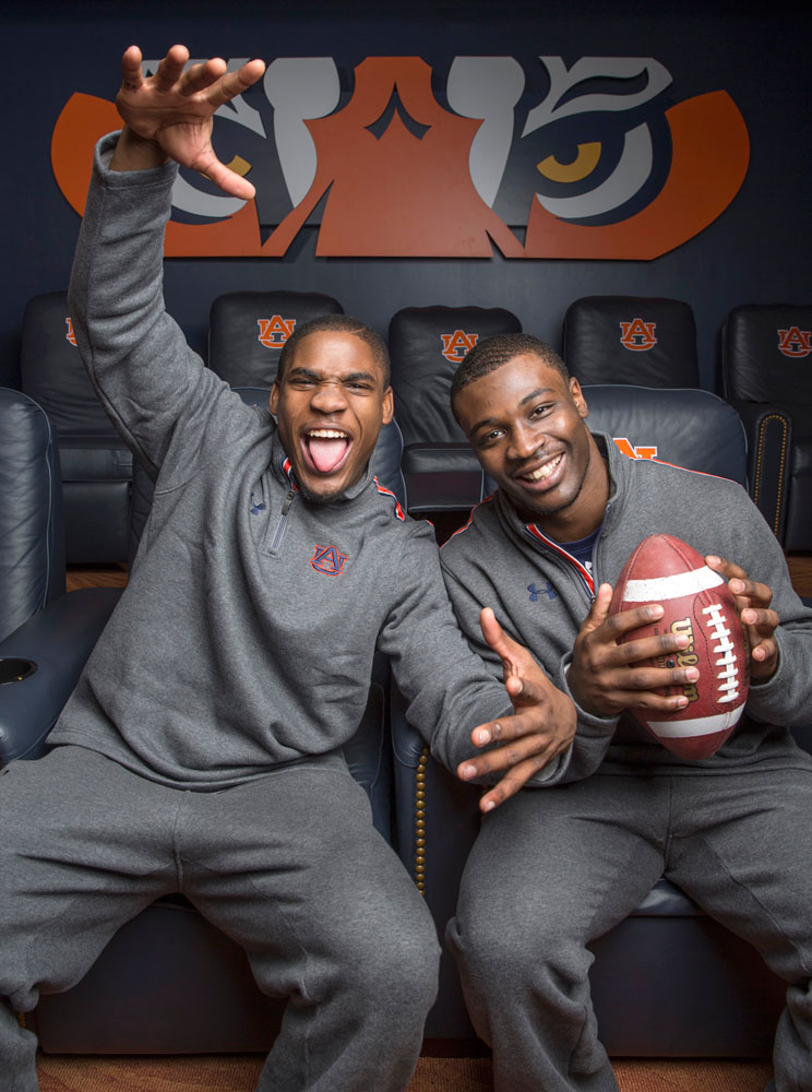 Ricardo Louis and Chris Davis both excited to be going to Pasadena