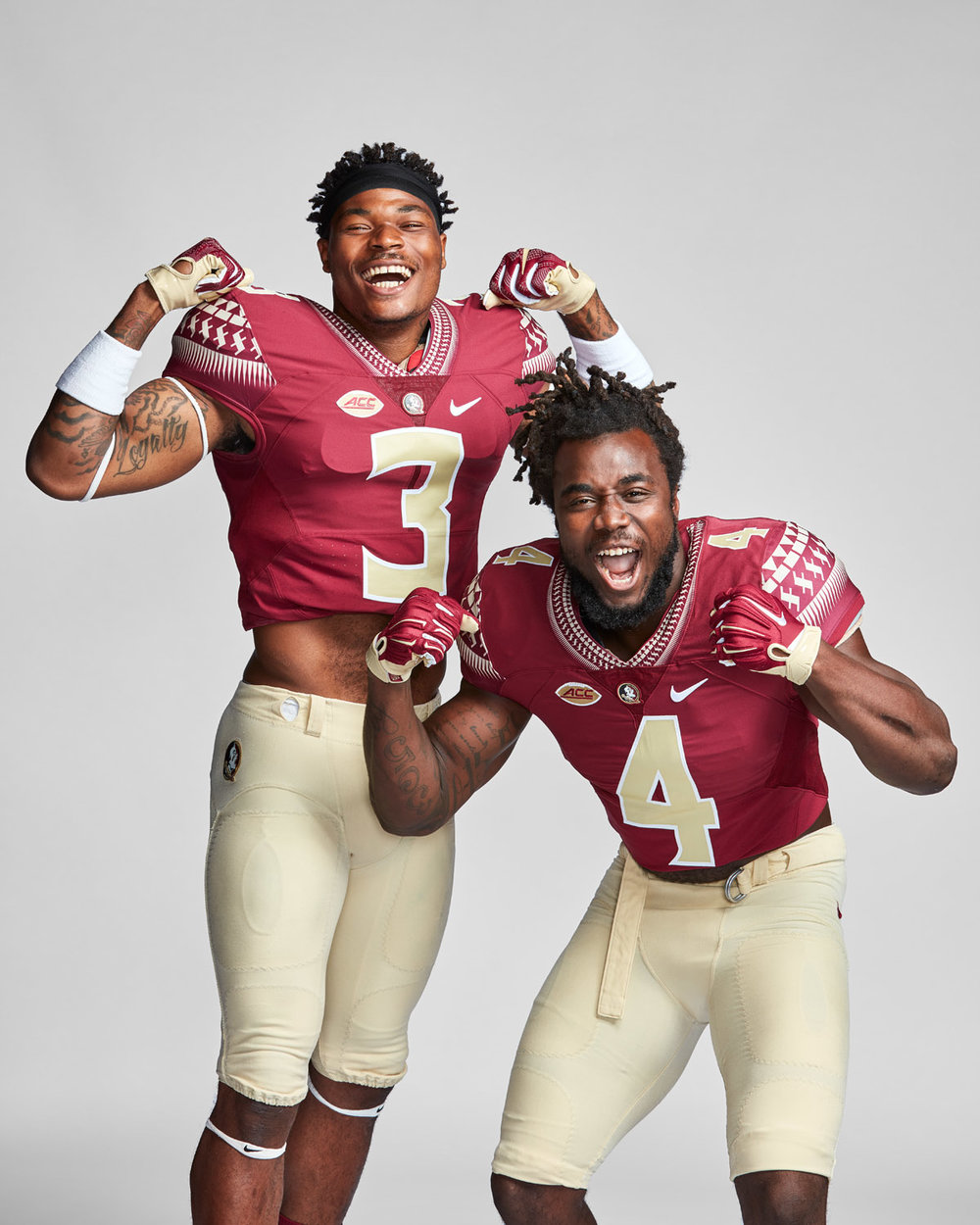 Fsu Football Wallpaper: Dalvin Cook And Derwin James For ESPN The Magazine