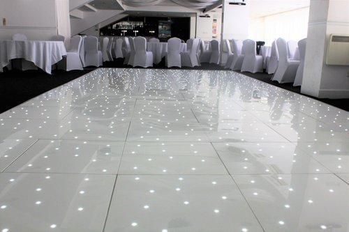 LED Dance Floor Hire | Light Up Dance Floor — Pretty White