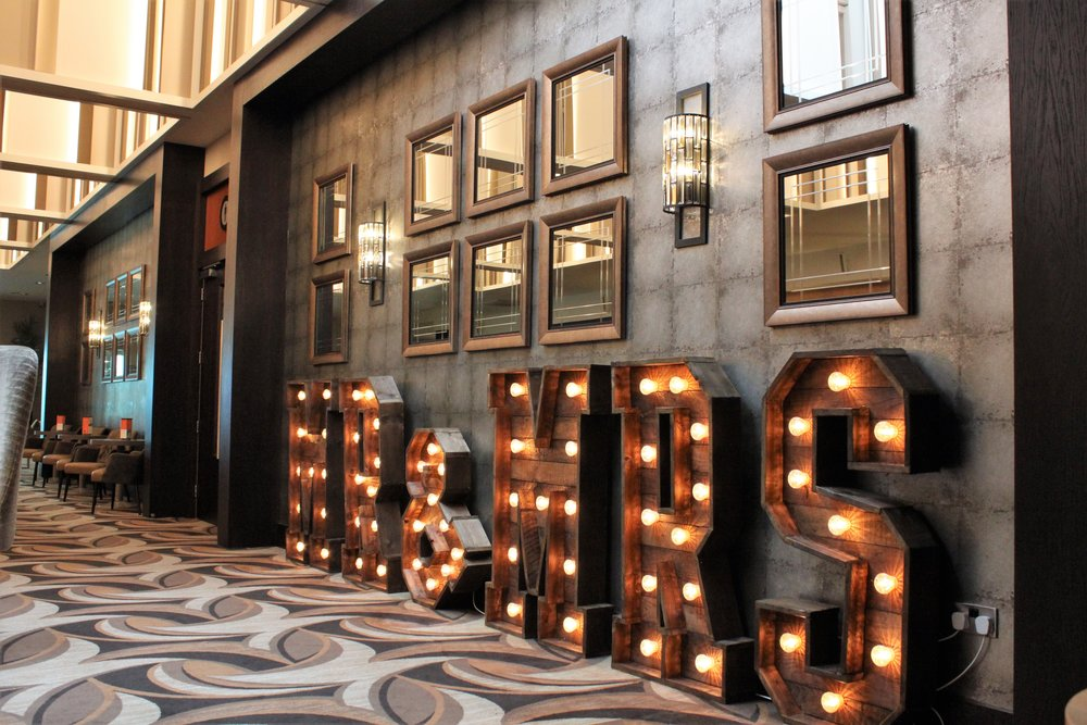 Rustic Mrs & Mrs - Our newest addition to our impressive LED hire family. The huge Mrs & Mrs rustic letters can also be used in a number of formats, Mr & Mr and Mr & Mrs. These impressive letters can span an area of 8 metres!Hire for only £200.
