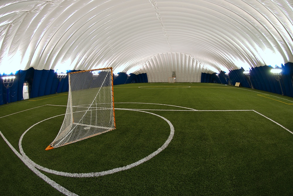 Indoor dome with state of the art Turf