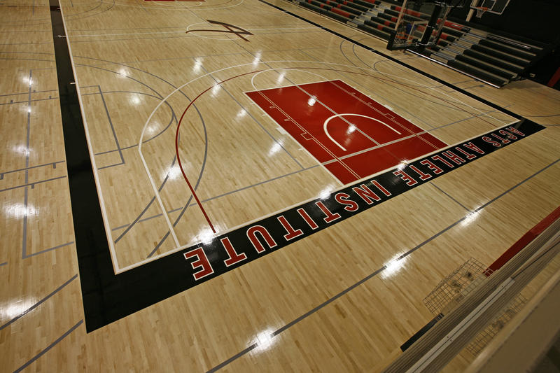 Athlete Institute Fieldhouse - Basketball Court