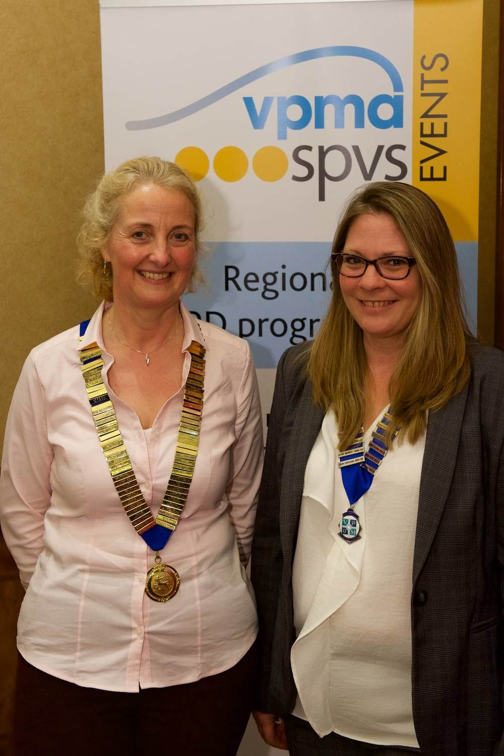 Another personal highlight was seeing our friend and long-time supporter Stephanie Writer-Davies becoming SPVS President.