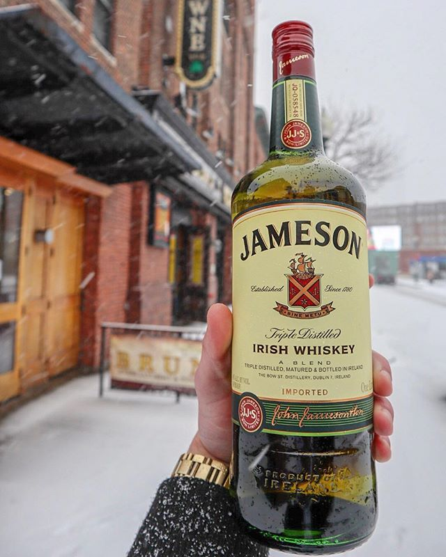 soup of the snow day: @jameson_us 🥃
