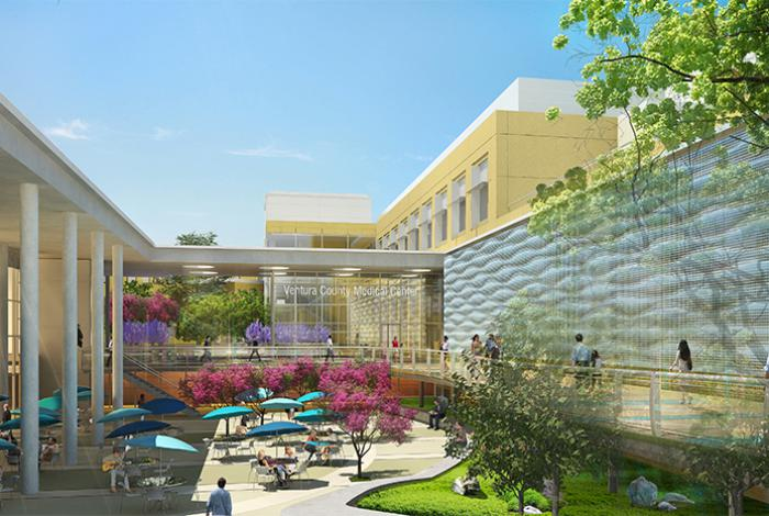 Ventura County Medical Center Replacement Hospital - LEED SILVER (Projected)