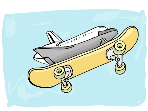 Endeavor Skate Board