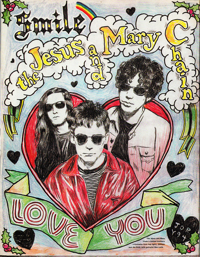 The Jesus and Mary Chain for Interview Magazine