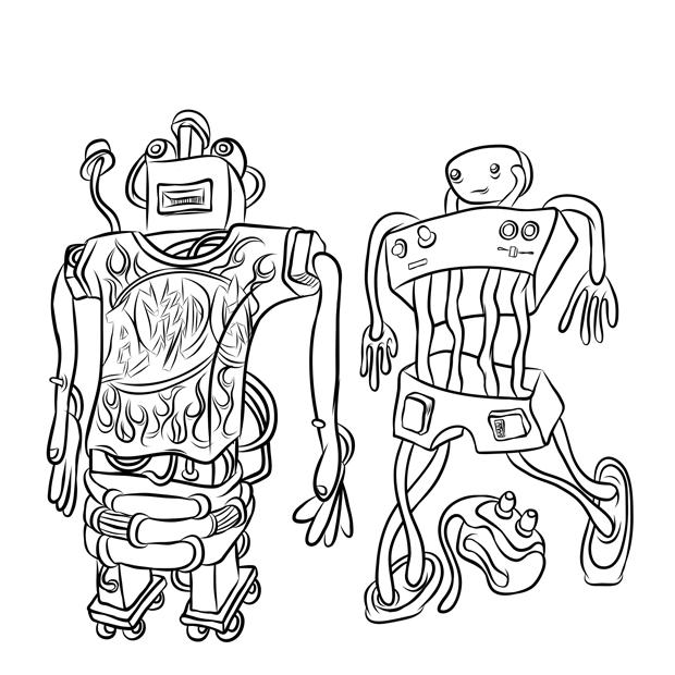 Robots at a Rock Concert