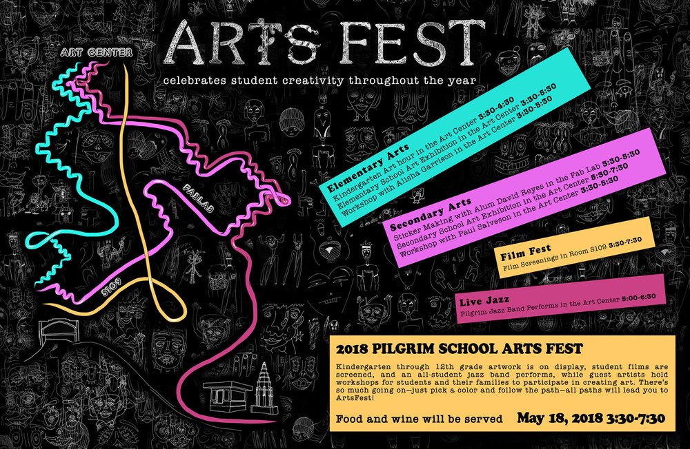 Pilgrim School 2018 Art Fest