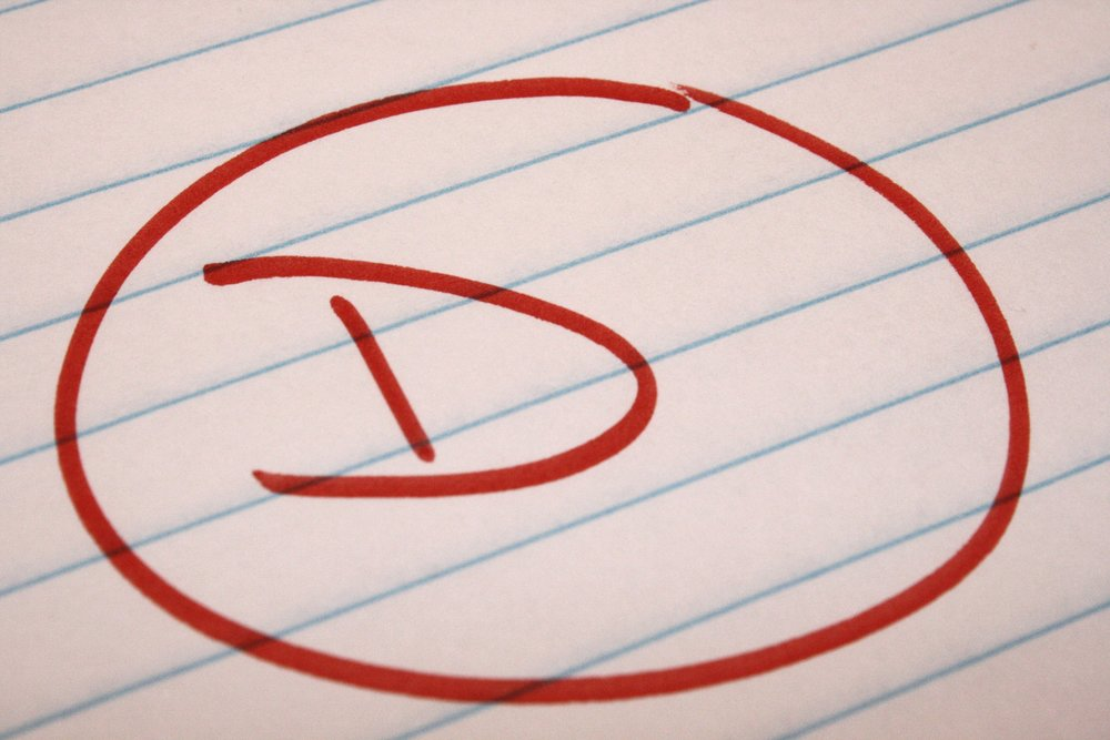 "How getting a ""D"" on an exam can help us deal with the 2016 election."