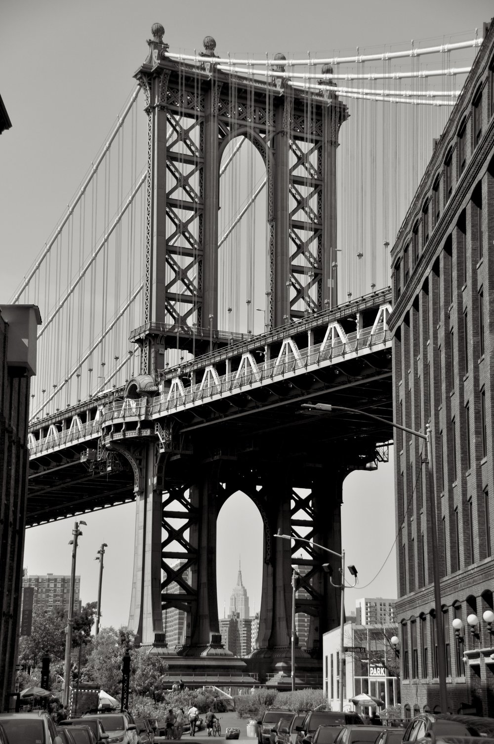 Empire State Through The Manhattan Bridge T.JPG