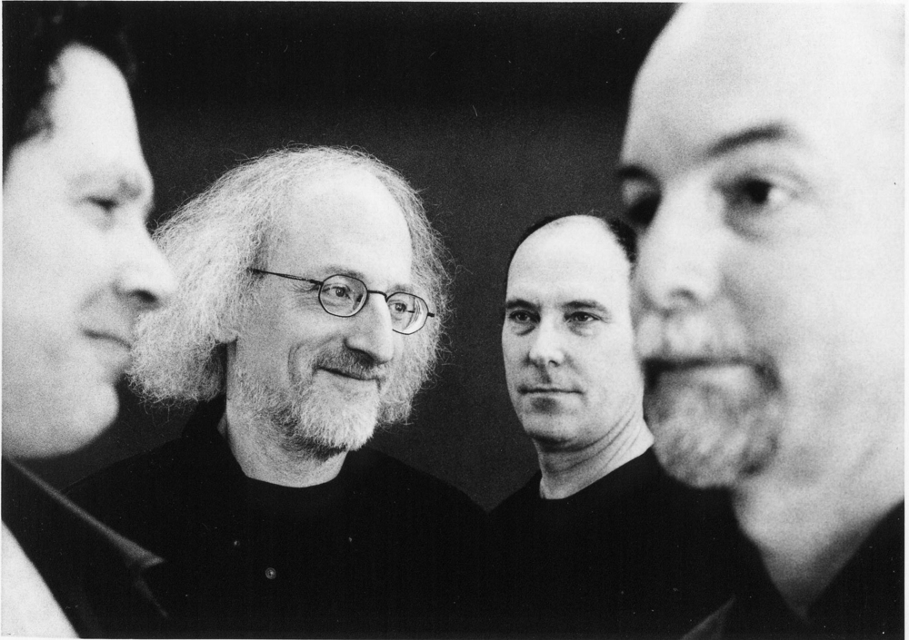 Rova Saxophone Quartet -- 2002, pictured (l-r) Bruce Ackley, Larry Ochs, Jon Raskin, Steve Adams, image by Heike Liss (3).jpg