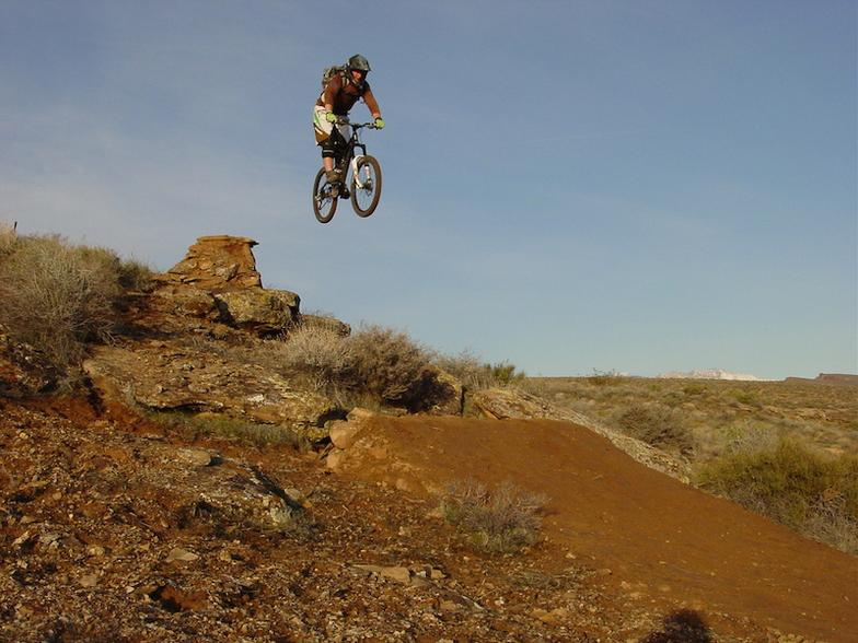 Allen Richard's sending it on his Hubsessed built wheels