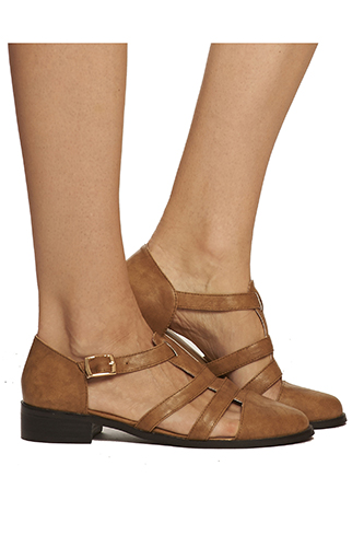 josie fisherman sandal leather