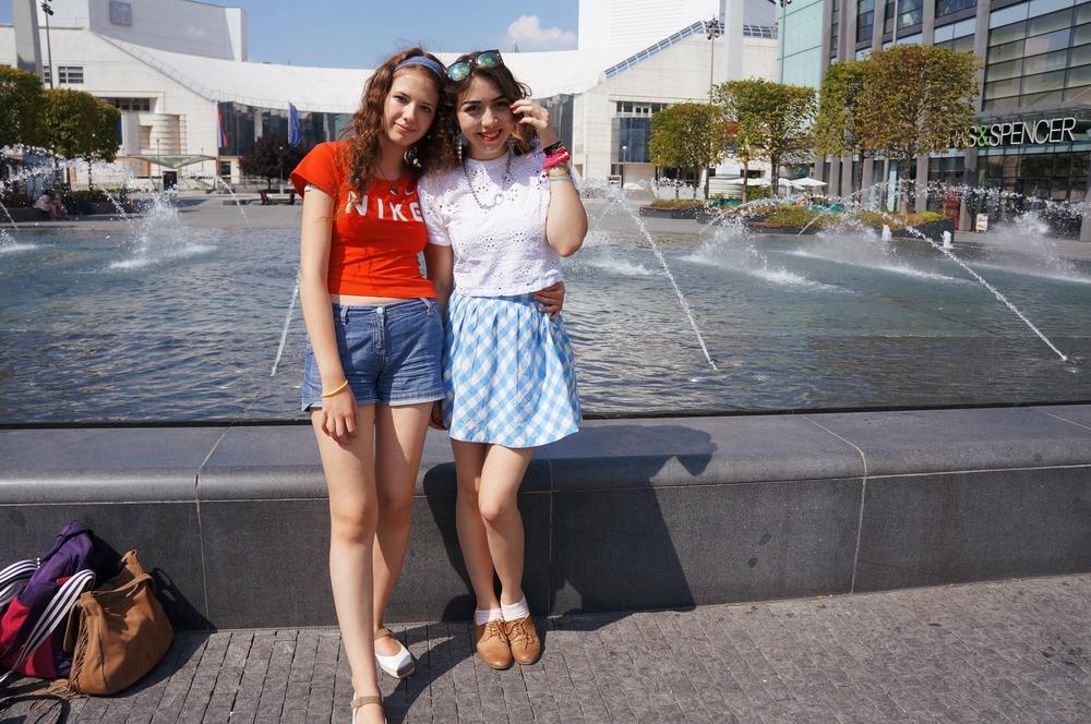 Marina Laduda with Jasmin