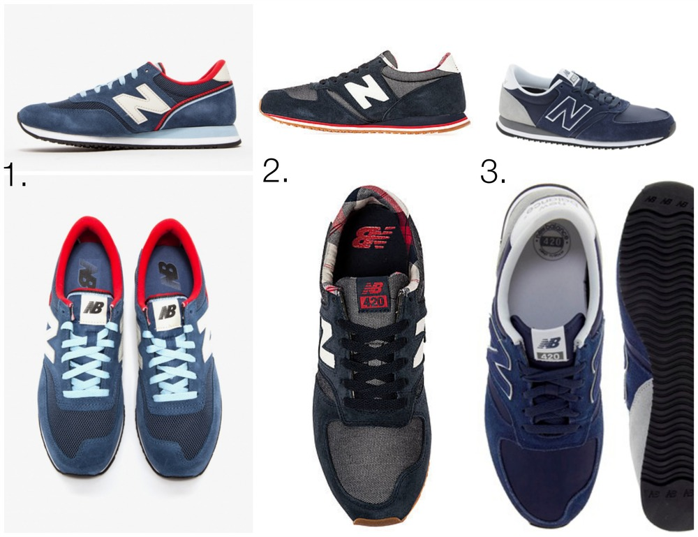 nike internationalist vs new balance 420 sneaker