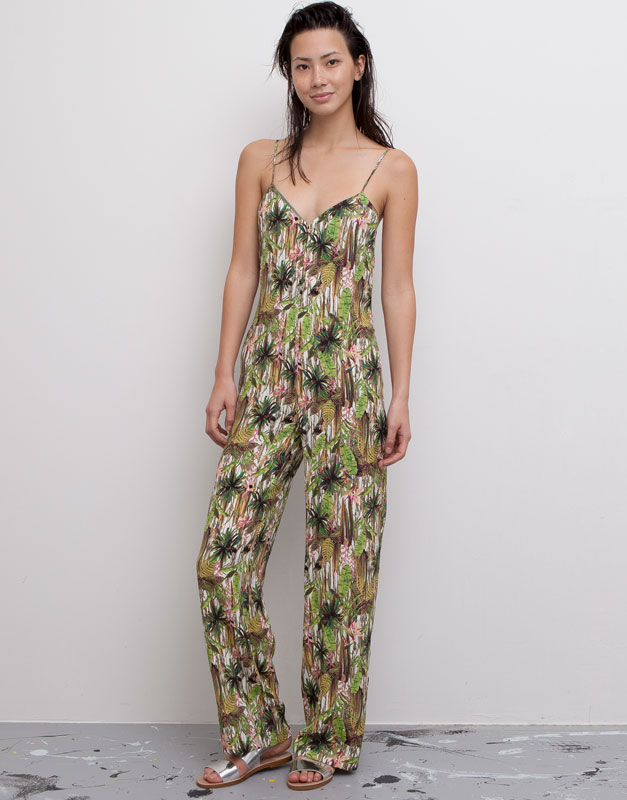 Long tropical jumpsuit / 40€