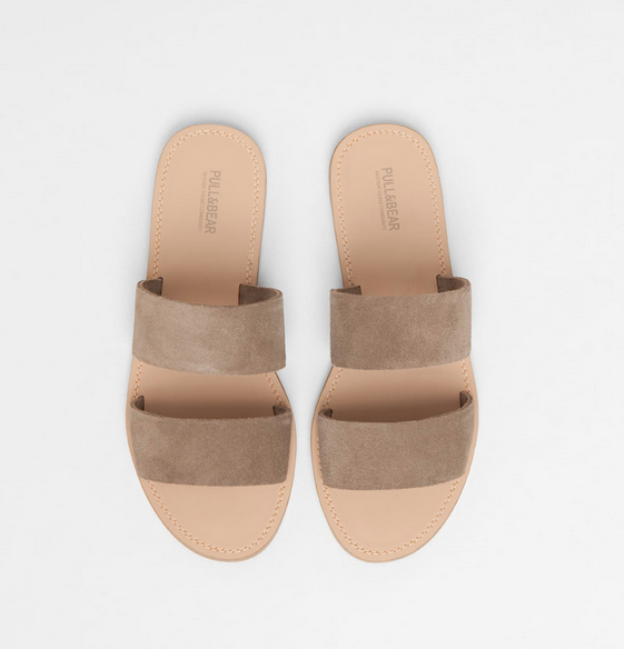 Suede Band Sandals / 30€