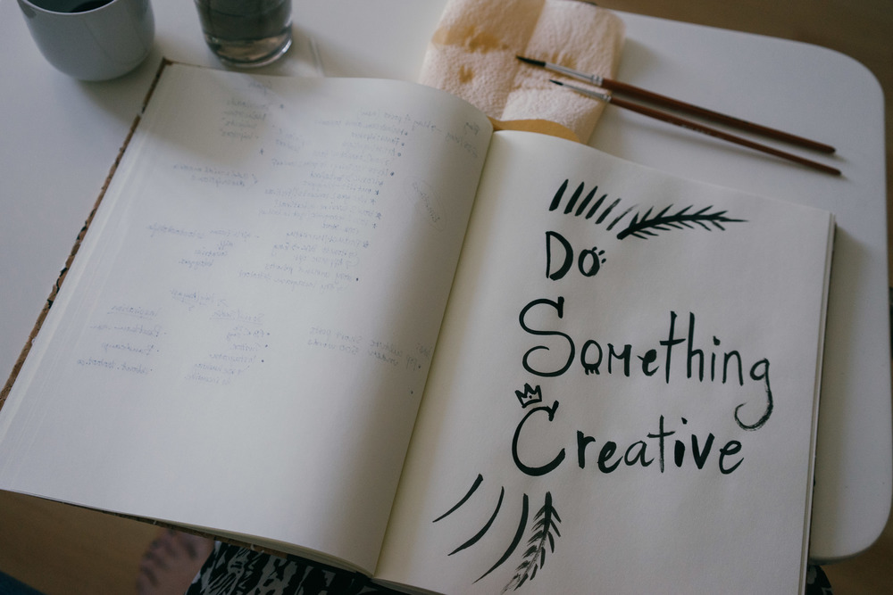 If you're having a sad day, try doing something creative to get your mind off your troubles. / www.MarinaSays.com