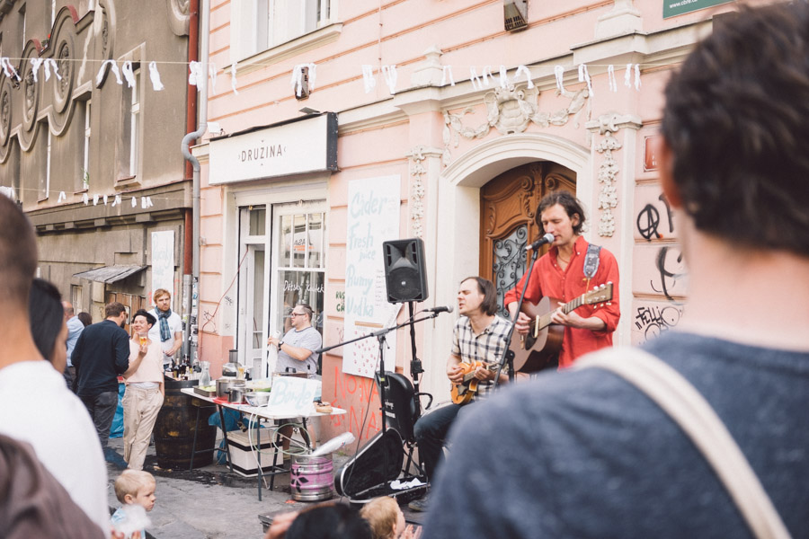 Street party at Korso Krymska, Prague / More life stories at www.MarinaSays.com