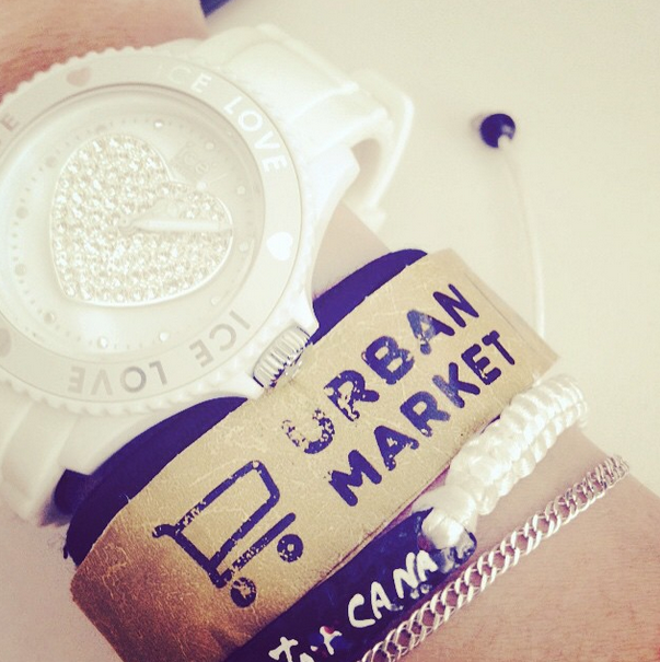 #UrbanMarket Wristband