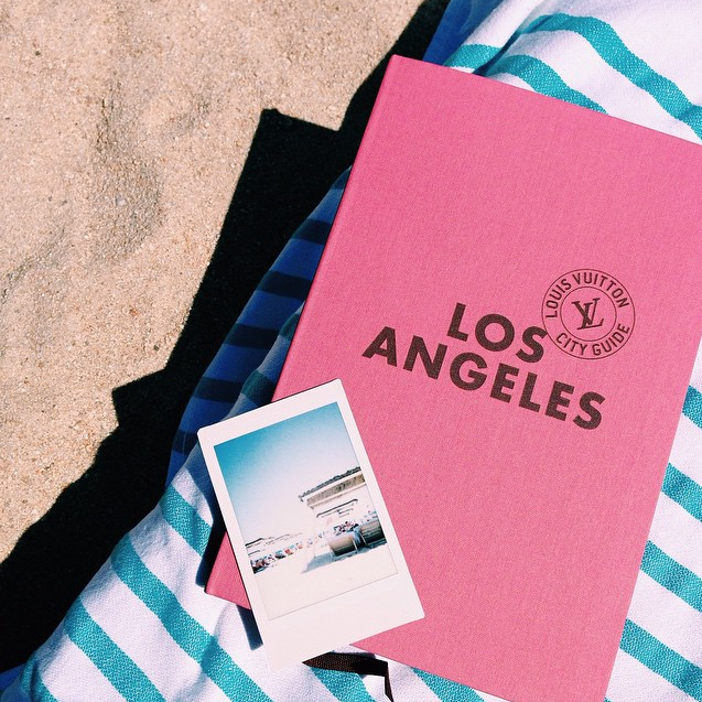 Cute guide book for Los Angeles