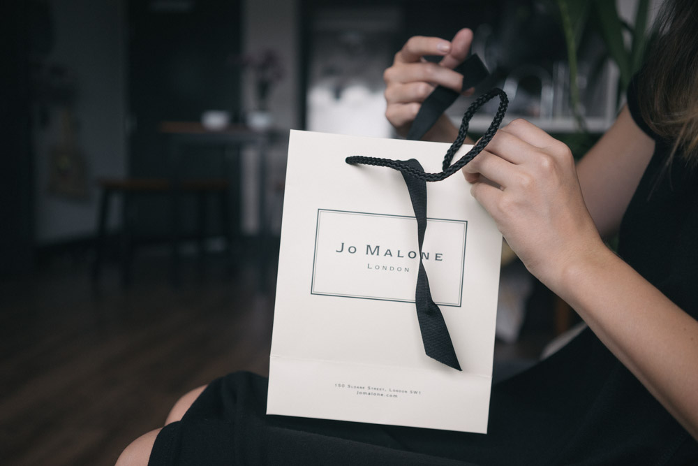Jo Malone London pretty packaging / www.MarinaSays.com