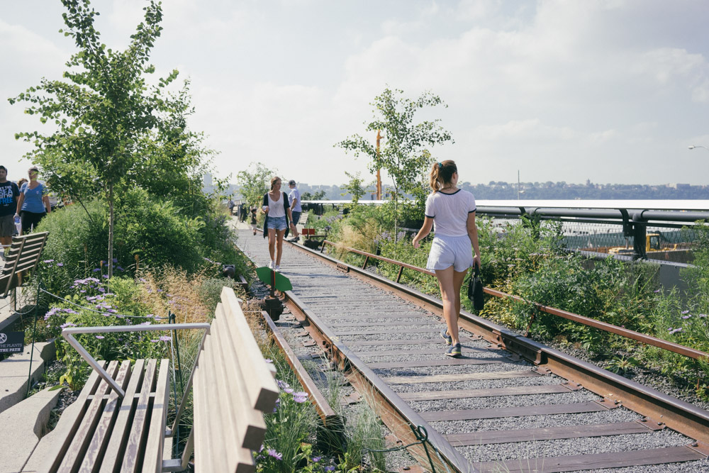 Walking the High Line by MarinaSays.com