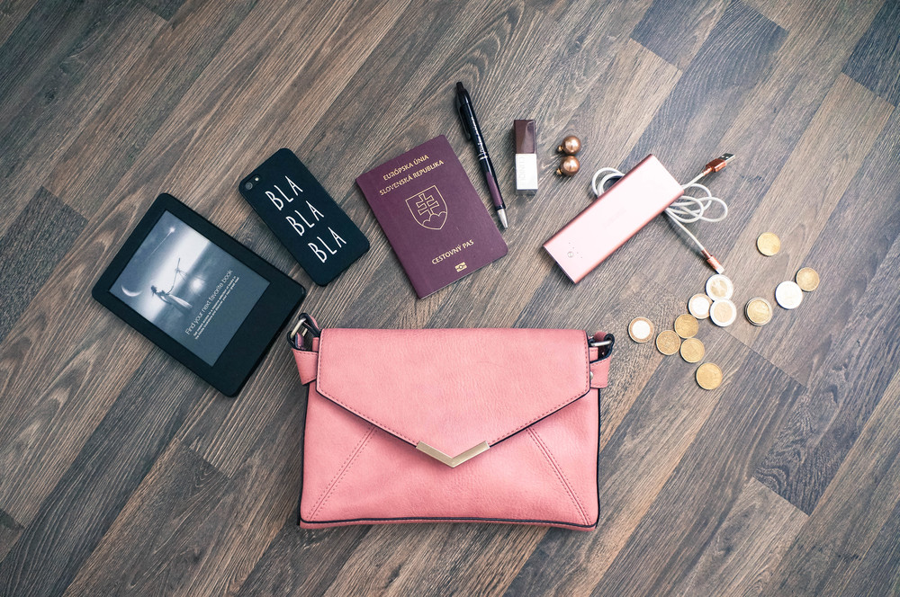 Things to keep in your purse when you travel abroad - and more lifestyle posts at www.MarinaSays.com