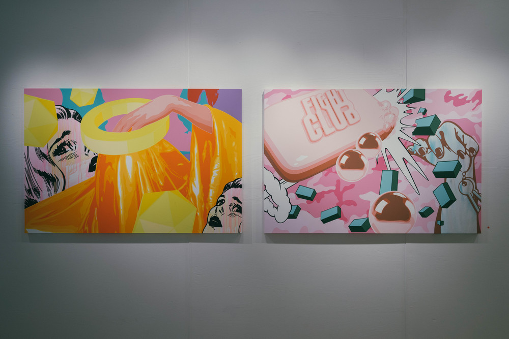 Pop culture makes a thematic appearance in the artworks of Pasta Oner, Czech painter and sculptor. Find out more at www.MarinaSays.com
