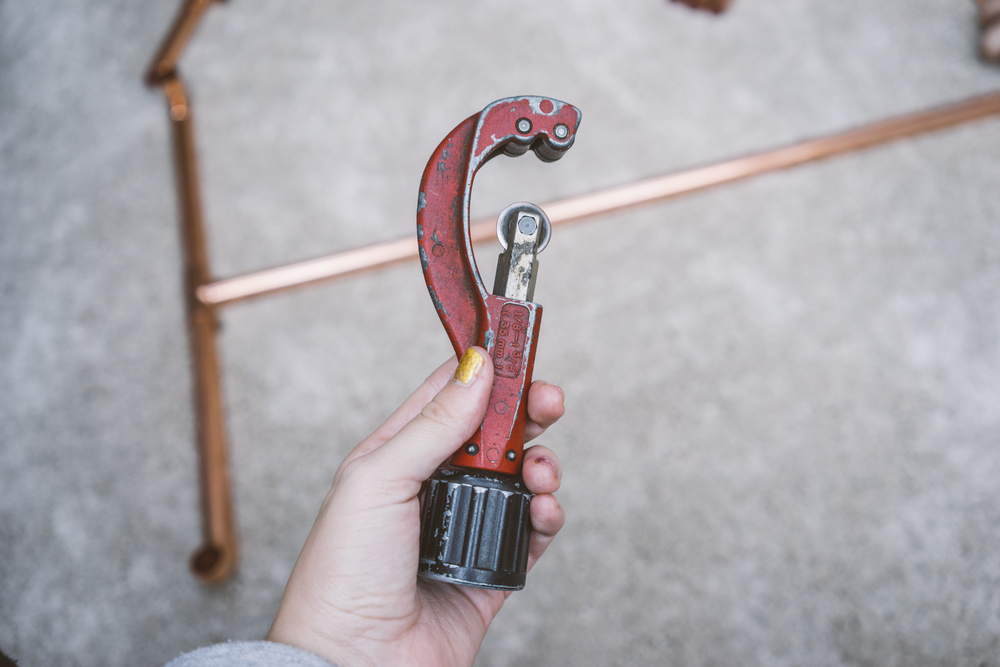 Tools used for cutting copper pipes. More lifestyle inspirations at www.MarinaSays.com