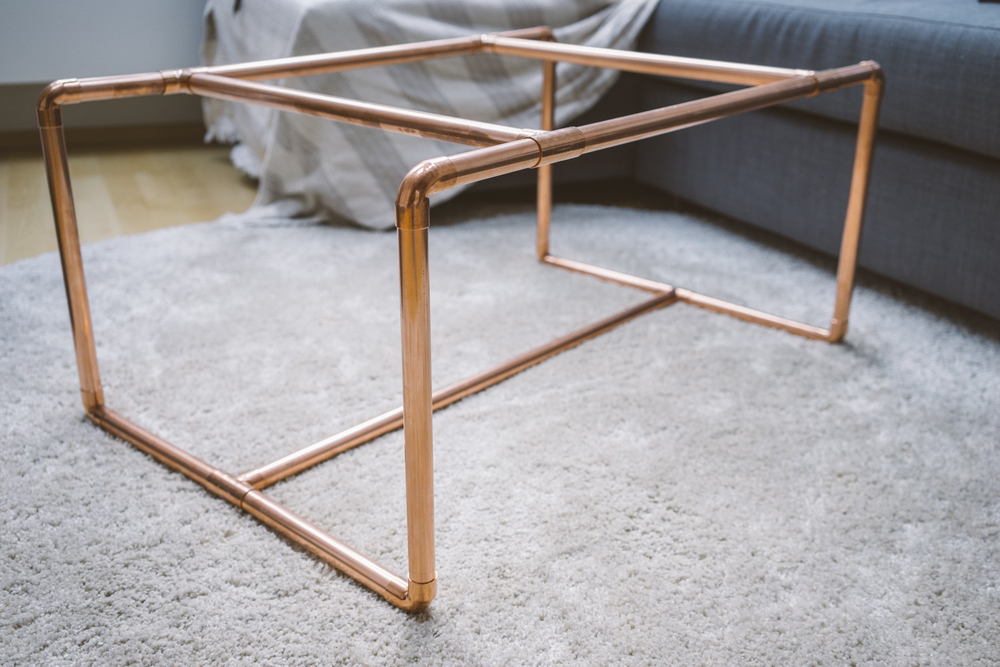 DIY coffeetable by www.MARINASAYS.com - a diary of a 20-something year old's experiences, beauty tutorials, and style tips you can actually use.